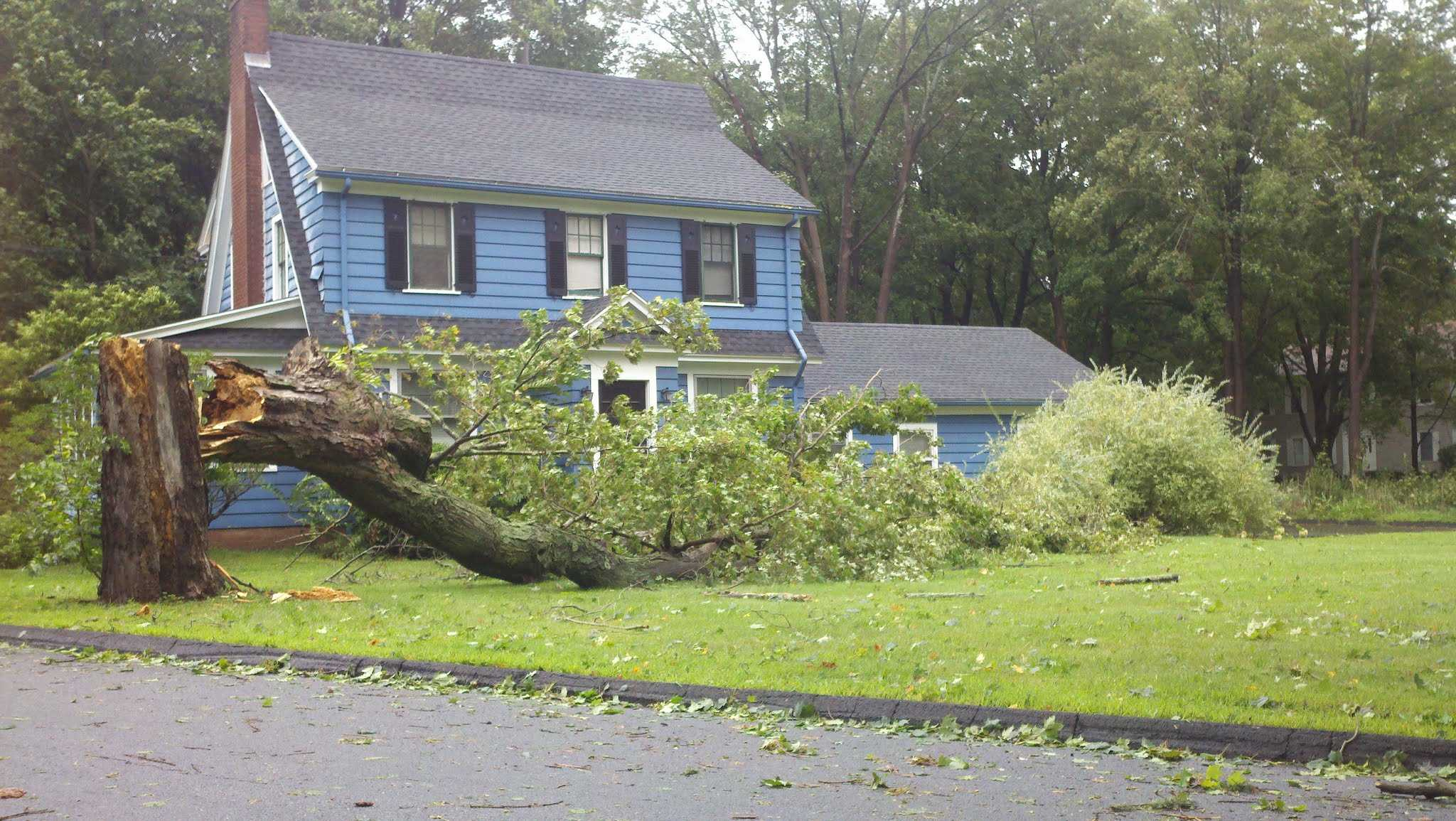 Hurricane Irene hits Quinnipiac [Slideshow]