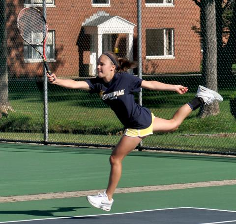 Women's tennis Quinnipiac Invitational 9.16.11