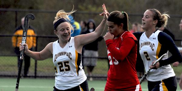 Quinnipiac field hockey clinches No. 3 seed