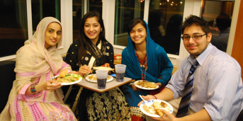 Quinnipiac Muslim Community Come Together in Celebration