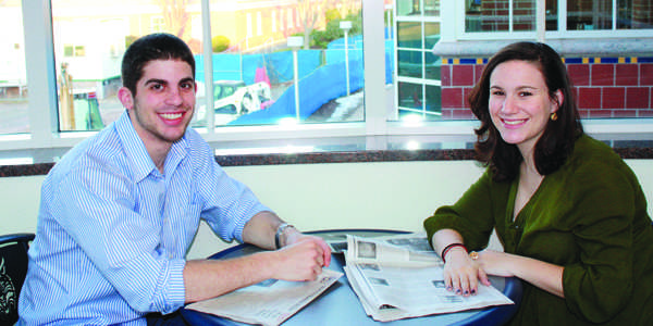 Pi Kappa Phi President Michael Weiner and Pi Beta Phi President Sara Leduc are preparing their chapters for the upcoming recruitment week.