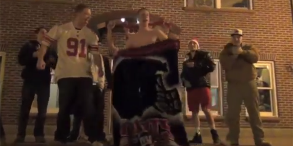 Video: Quinnipiac reacts to the Giants winning Super Bowl XLVI