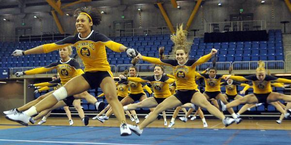 Quinnipiac acrobatics & tumbling drops season-opener