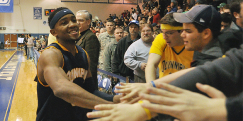 Quinnipiac men's basketball rises to fifth place in NEC