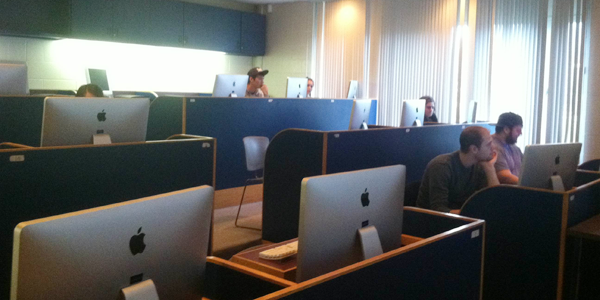 Quinnipiac's interactive digital design program was suspended due to lack of resources and space.