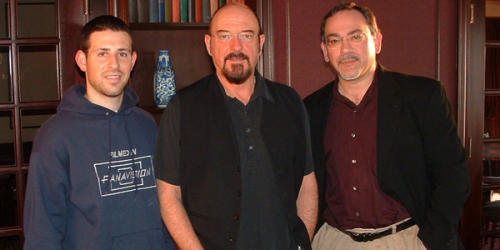 George Sloan (left), Ian Anderson and Michael Calia.