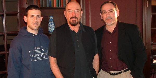George Sloan (left), Ian Anderson and Michael Calia.