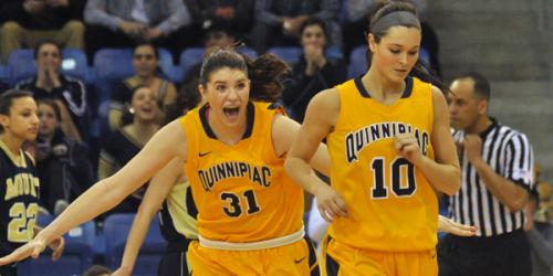 Quinnipiac women's basketball advances to NEC semis