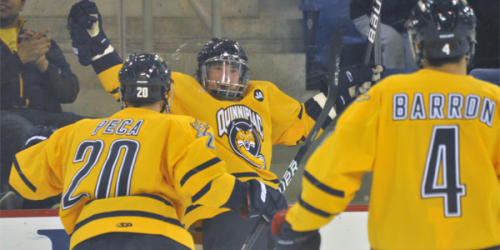 Quinnipiac men's ice hockey evens series, forces game 3 tomorrow night