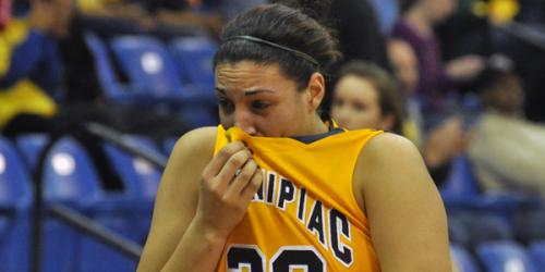 Quinnipiac women's basketball loses late in semis