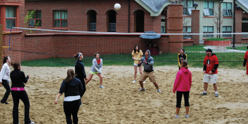 Students play through rain to remember Nick M. Lucaj