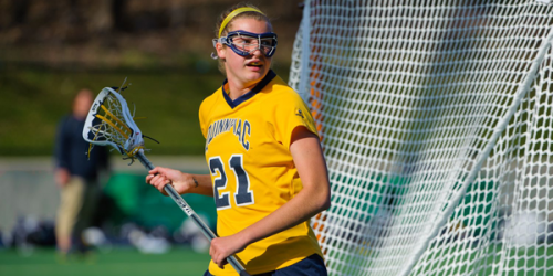 Quinnipiac freshman Kyra Ochwat ranks second on the team with 25 goals and ranks fourth with 31 points. The Bobcats are currently in first place in the Northeast Conference, as they are undefeated in league play.