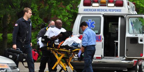 BREAKING: Chartwells employee taken to hospital