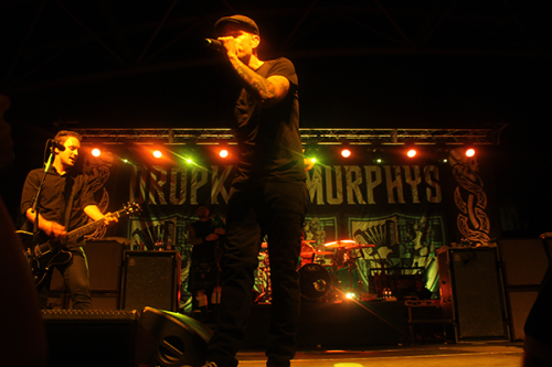 Dropkick Murphy's perform at the concert on Friday, Sept. 28.