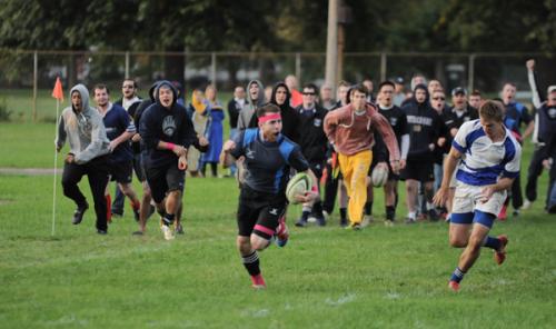 New Blue Rugby 22, CCSU 12