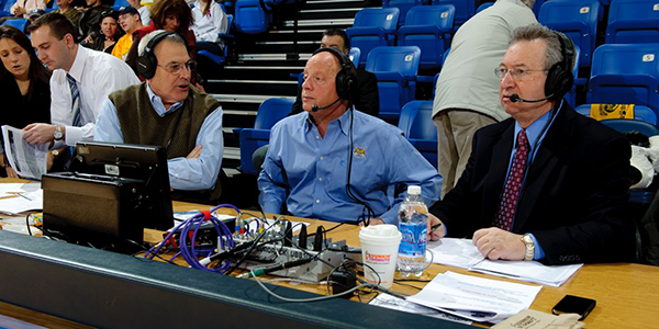 Bill Schweizer the voice of the Bobcats