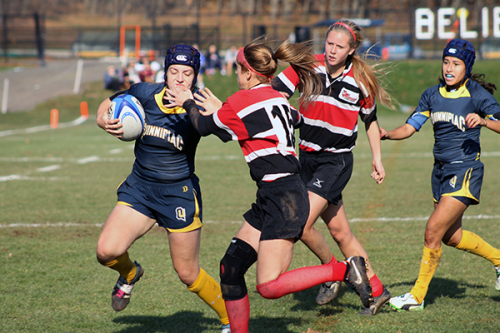 Women's rugby advances to championship game