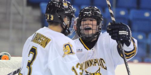 Women's ice hockey defeats RPI 4-1