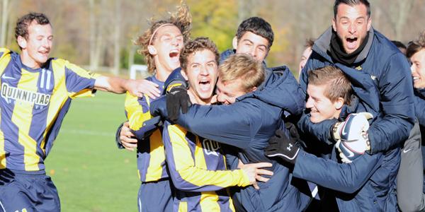 Men's soccer wins first NEC regular-season championship