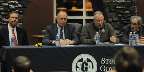 Lahey, administrators explain university plans