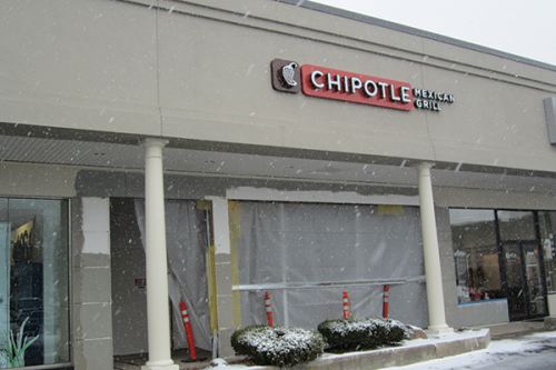 Chipotle will open its Hamden location by the end of February.