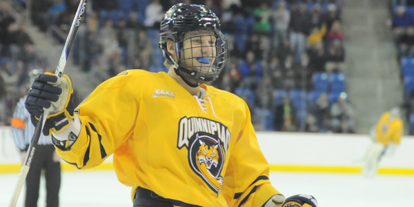 Quinnipiac men's ice hockey streak hits 14