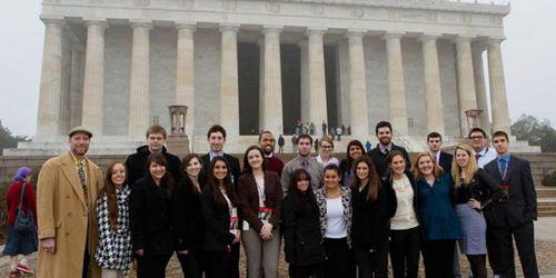 Students take part in Inauguration in D.C.