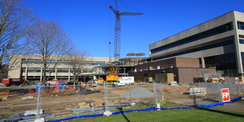 School of Medicine nearly complete