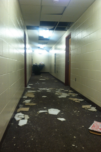 Commons suffers dorm damages