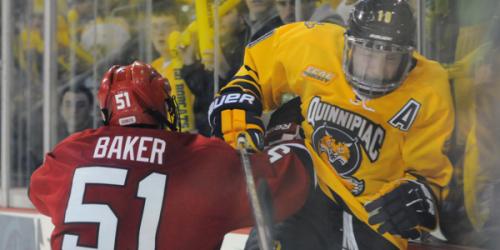 Men's ice hockey unbeaten streak snapped
