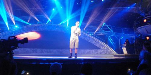 Freshman 'Powers' through 'American Idol Experience' at Disney World