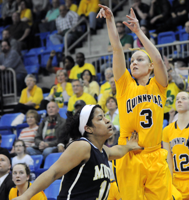 Quinnipiac 63, Mount St. Mary's 56