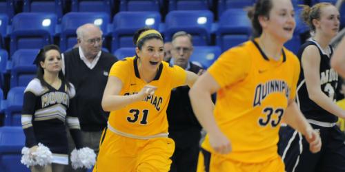 Womens basketball advances to NEC championship