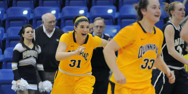 Women's basketball advances to NEC championship