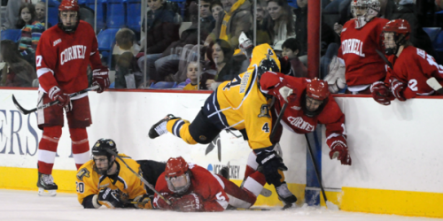 Men's ice hockey drops game 1 to Cornell
