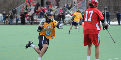 Men's lacrosse drops second straight by one goal