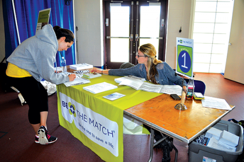 Bone Marrow Registry Drive gives students a chance to save a life