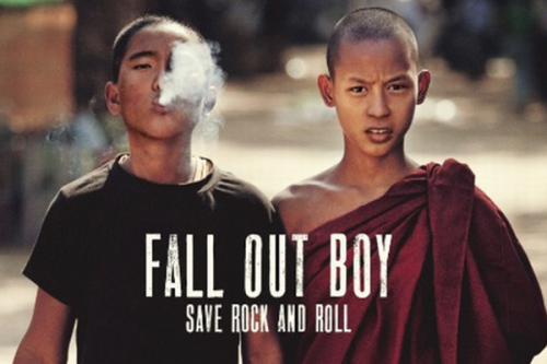 Fall Out Boy works to 'Save Rock and Roll'