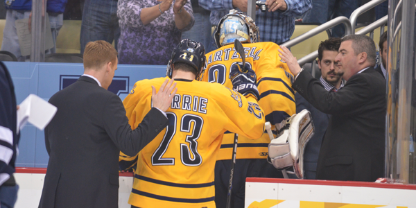 Yale blanks Quinnipiac in national championship