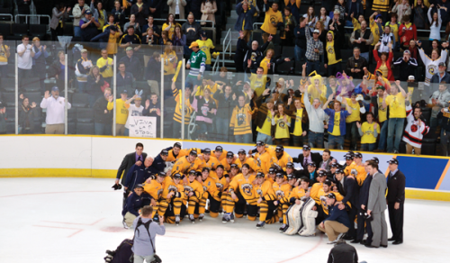 Bobcats gear up for Frozen Four