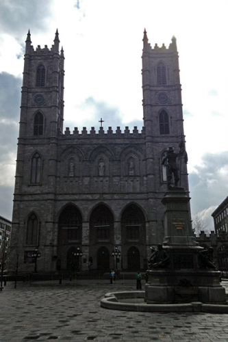 The Notre Dame Basilica Old Montreal is one of the most popular attractions in Montreal as it stands for the city's French Catholic roots