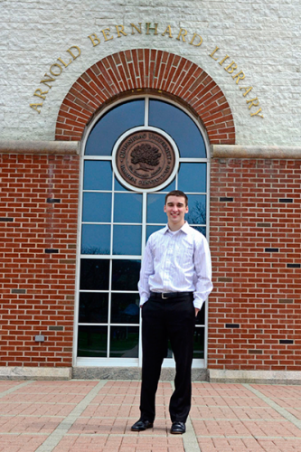 Matt Desilets is the next student body president