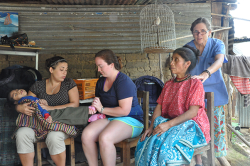 OT/PT students do service trip to Guatemala