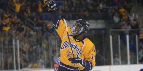 Quinnipiac men's ice hockey sweeps home-and-home