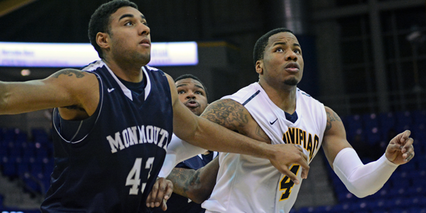 Quinnipiac men's basketball outlasts Monmouth