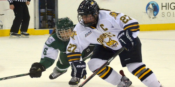 Quinnipiac women's ice hockey tops Dartmouth