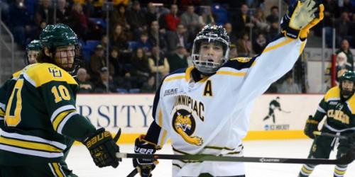 Quinnipiac men's ice hockey wins second straight