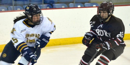 Quinnipiac women's ice hockey topples Brown