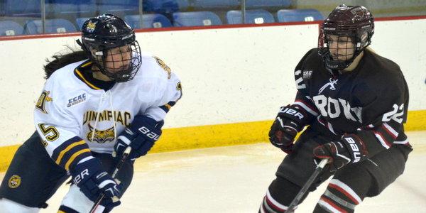 Quinnipiac women's ice hockey topples Brown