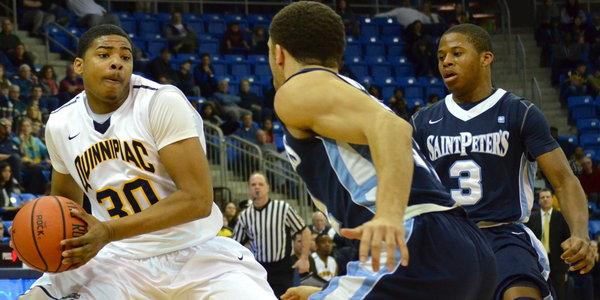 Quinnipiac men's basketball edges Saint Peter's